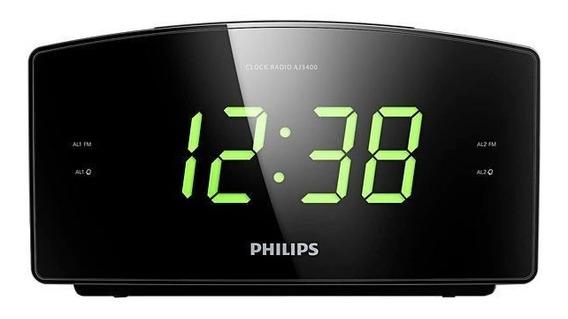 Rádio Relógio Philips Aj3400/37