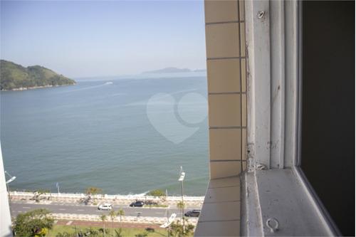 Imagem 1 de 26 de Ótimo Apartamento A Venda Na Ponta Da Praia Em Santos. - Reo554247