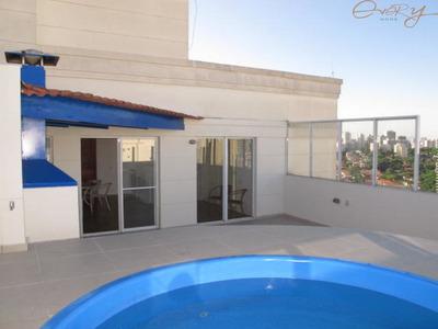 Cobertura No Jardim Marajoara Em Condominio Clube Com 4 Dormitorios - Eh1762