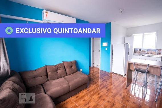Apartamento No 8º Andar Mobiliado Com 2 Dormitórios E 1 Garagem - Id: 892958526 - 258526