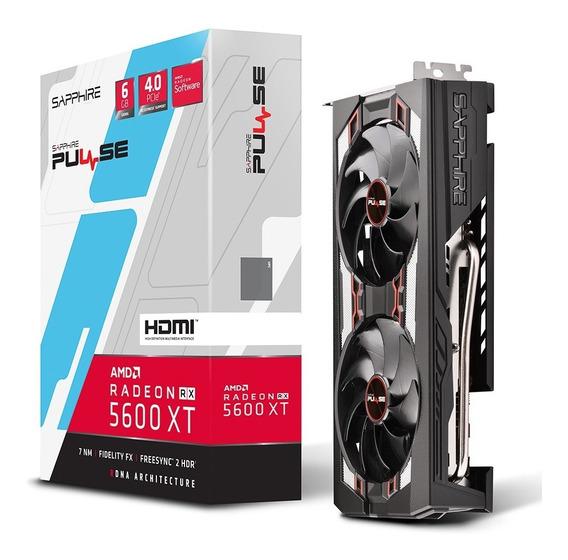 Placa Video Amd Radeon Rx 5600 Xt Sapphire Pulse 6gb Gddr6