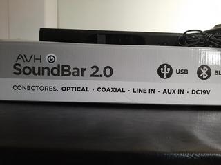 Barra De Sonido Avh Soundbar 2.0