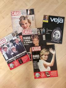 Lote De 5 Publicações Princesa Diana
