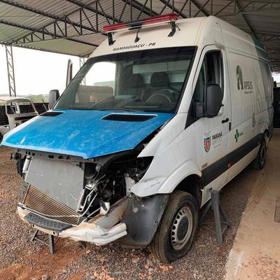 Sucata De Sprinter 415 Cdi Biturbo 2018 Pra Retirar Peças