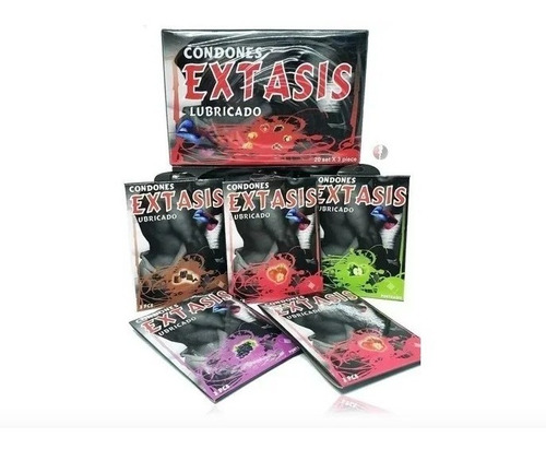 Condones Preservativos Extasis X 60 Unidades