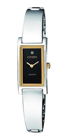 Reloj Dama Citizen Ez6364-59e Acero 2 Tonos Diseño Elegante Regalo Para Mamá