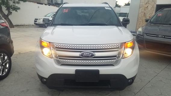 Ford Explorer 2014 Xlt 4x4 3 Filas