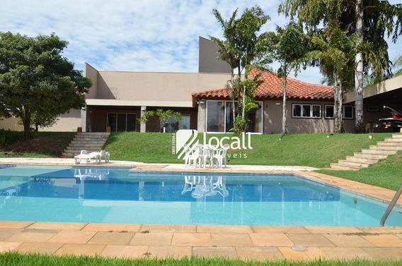 Casa Com 4 Dormitórios Para Alugar, 680 M² Por R$ 9.000/mês - Jardim Francisco Fernandes - São José Do Rio Preto/sp - Ca1928