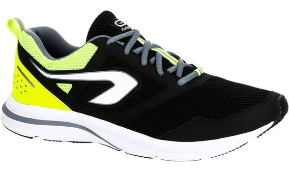 Tenis De Running Hombre Run Active Negro Amarillo 8488626 1