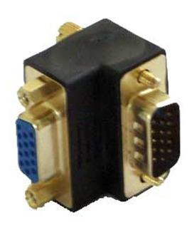 Cople Adaptador Vga M-h 90°, Pantallas Lcd Plasma (087304)