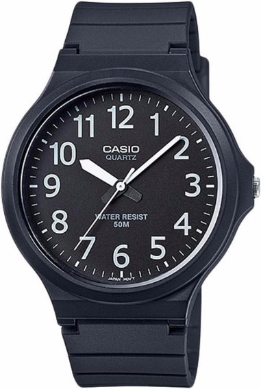 Reloj Casio Hombre Mw-240-1b Analogico