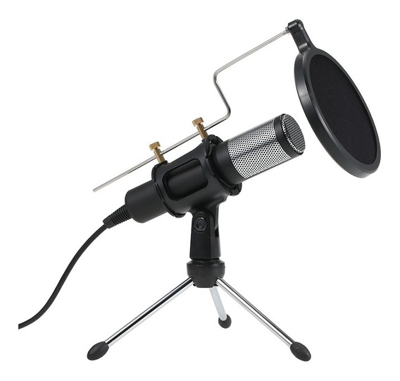 Profissional Condensador Microfone Usb Plugue E Jogar Casa