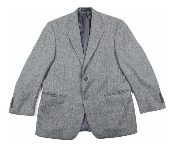 Blazer Saco 100% Lambswool Talla 40 Small Con Detalle