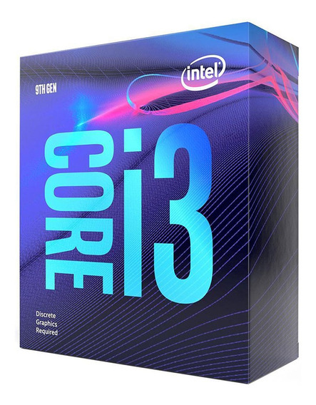 Micro Procesador Intel Core I3 9100f 4.2ghz Coffee Lake Pc