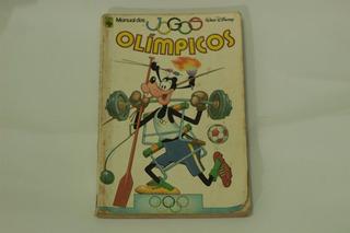 Hq Manual Dos Jogos Olímpicos Gibi Disney Editora Abril 1980