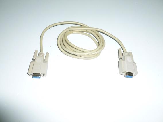 Nuevo Cable Serial Db9 Hembra Hembra Balanzas Impresoras Tik