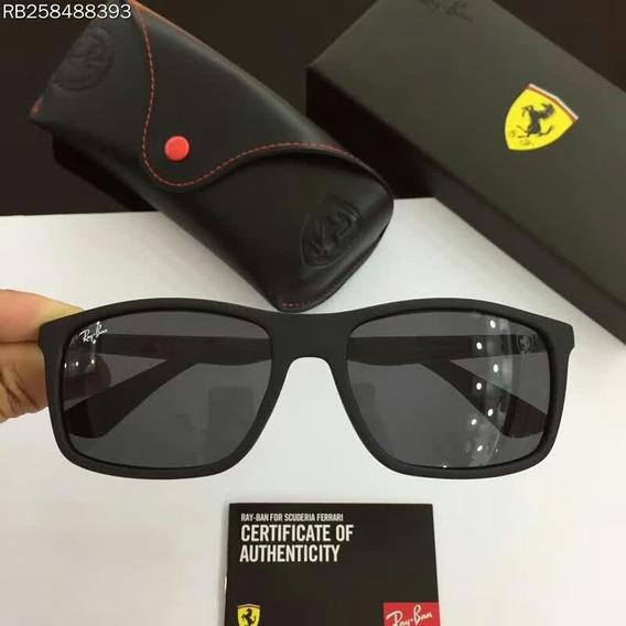 Oculos De Sol Masculino Ray Ban Rb4228m Scuderia Ferrari