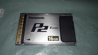 Cartão Memoria Panasonic P2 E-series 16gb Aj-p2e016xg (2243)