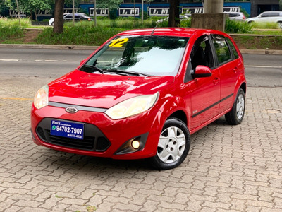 Ford Fiesta Flex Hatch Rocam Completo 3mil Entrada+399 Mes