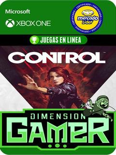 Control - Xbox One Modo Local + En Linea