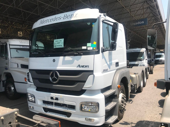 Mercedes-benz Axor 2533 Ls/36 6x2 Cd Tb - Blanco