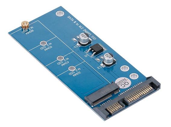 Ngff M.2 Ssd Para Sata 3.0 Adaptador Cartão Conversor Para