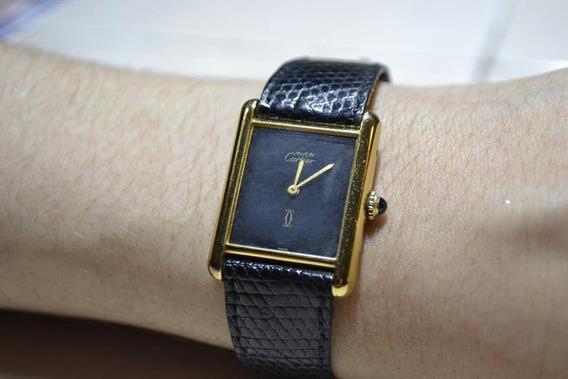 Reloj Cartier Must/argent, Modelo Vintage (80