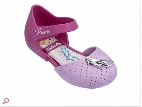 Sandália Infantil Disney Princesas Encantada Baby Grendene
