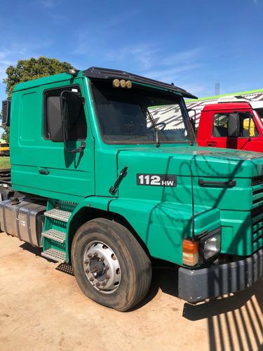 Imagem 1 de 13 de Caminhão Scania 112 Hw Cavalo Truck 6x2 Ano 90