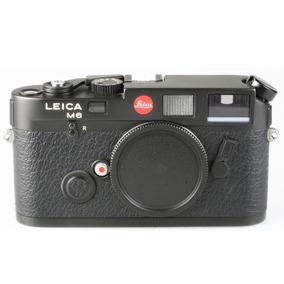 Câmera Analógica 35mm Leica M6 Corpo - Usada
