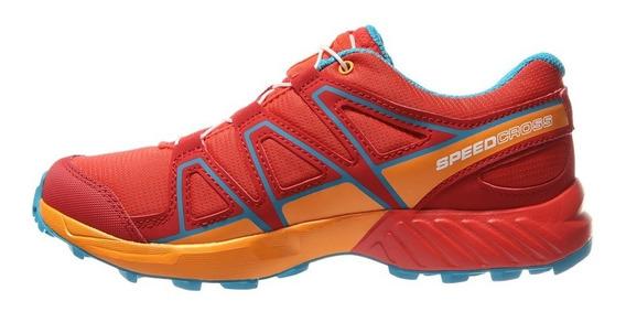 Zapatillas Salomon Speedcross Niños (401315) S+w