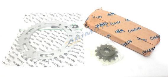 Kit Transmissão Completa - C/retentor O`ring Xre 300 Scud