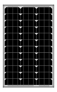 Placa Painel Célula Energia Solar Sun Home M6-65 65w Mono
