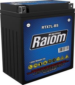 Bateria Moto Ytx7l-bs Vrla Twister Intruder Cg 150 Nx 125