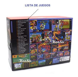 Nintendo Mini Consola Clásica Edición Retro Snes