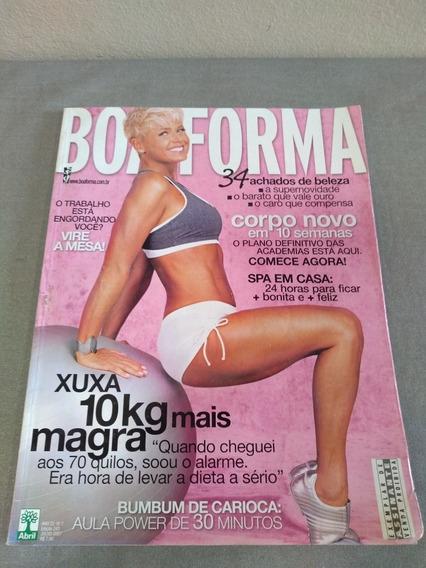 Revista Boa Forma Xuxa Edição 242 Ano 2007