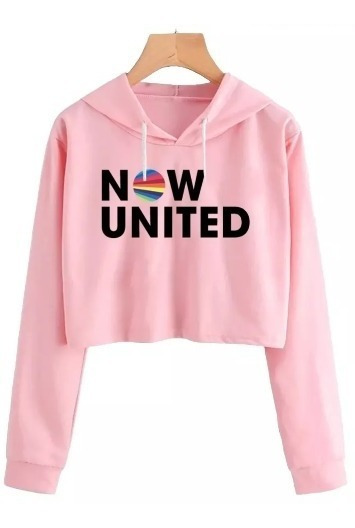 Blusinha Cropped Now United Any Gabrielly 06 Musica Dance