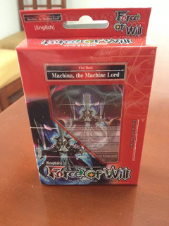 Deck Force Of Will The Machine Lord