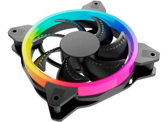 Kit 3 Ventiladores Ocelot/gamer/120mm/rgb/con Control