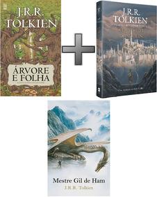 Queda De Gondolin; Mestre Gil; Árvore Folha 3 Livros Tolkien