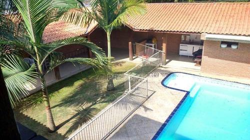 Casa Com 3 Dormitórios À Venda, 250 M² - Chácara Represinha - Cotia/sp - Ca14316