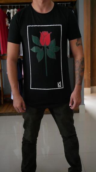 Camiseta Rosas Kj