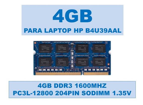 Memoria B4u39aal 4gb Ddr3 1600mhz Para Portátiles Hp 1.35v