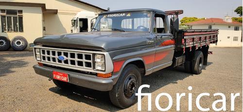 Ford F-4000 1988/89 Carroceria Madeira Mwm 229+turbo+d.hidra