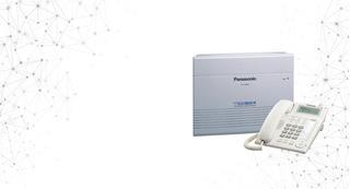 Kit Panasonic Tes-824, 4 Teléfonos, Cid