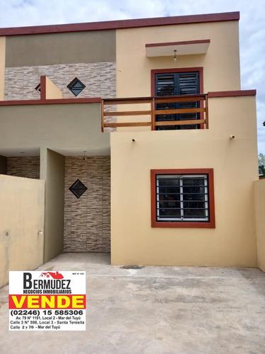 Venta Duplex 3 Amb Mar Del Tuyu Calle  5 E/86 Y 87