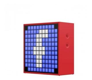 Parlante Pcbox Divoom 5w Azul Timebox Mini 6 Ctas