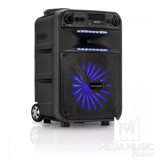 Caixa De Som Amplificada Com Bateria Multiuso Bluetooth Usb