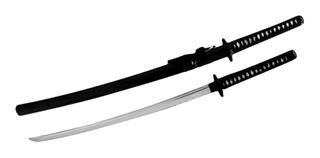 Katana Samurai Trento Hoja Acero Carbono 72 Cm Tienda Pepino Espada Sable Funda Filo