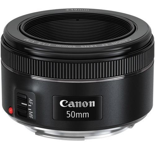 Lente Canon 50mm F/1.8 Stm Auto-foco Revenda Autorizada Nf-e
